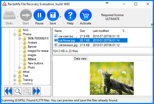 Check XFS recovery quality