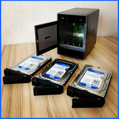 disconnect NAS disks