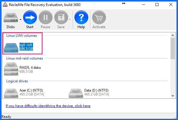 Linux 데이터 복구