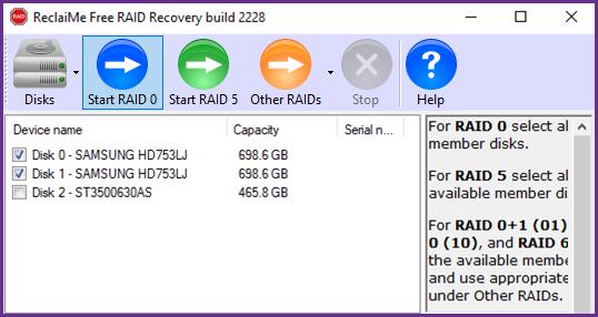 RAID0 recovery