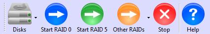 ReclaiMe Free RAID Recovery toolbar
